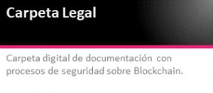 Carpeta Legal Blockchain