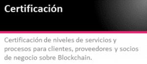 Certificación Blockchain